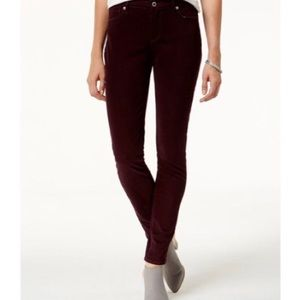 Lucky Brand Brooke Legging Jean in Wine 00/24